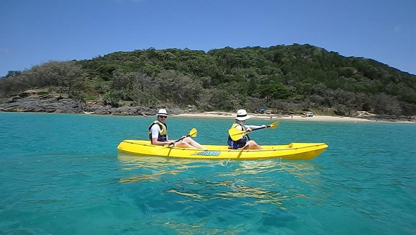 kayak tiqy, Noosa to Rainbow Beach Tour
