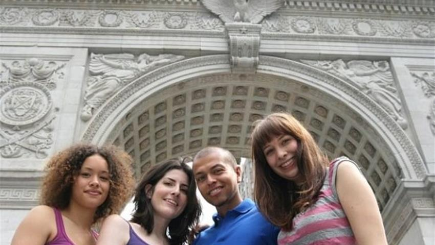 Group Picture, NYC Tv and Movie Tour