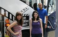 Say Hi to the camera, NYC Tv and Movie Tour