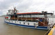Ferry for the tour - tiqy, Ocean to Ocean Tour through the Panama Canal