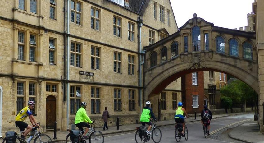 Guided The Official Oxford Tour, Official Oxford Cycle Tour