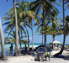 2 Day / 1 Night Camping Tour to San Blas From Panama City