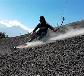 Pacaya Volcano Sanboard Roundtrip