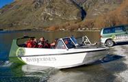 boat tiqy, Aventura de Rápidos Wanaka