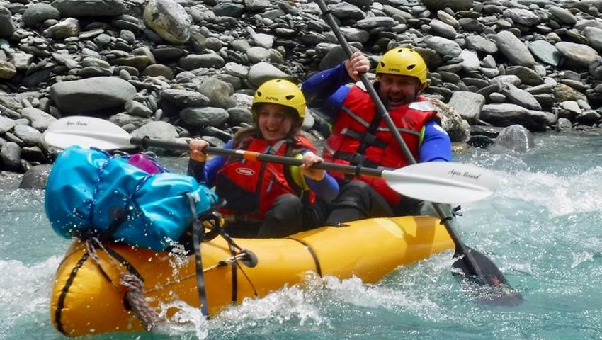 rapids tiqy, Packraft Wanaka