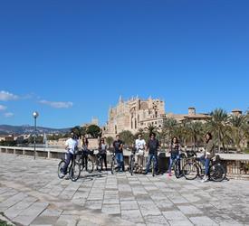 Palma Old Town Bike Tour, City Tours in Mallorca, Spain