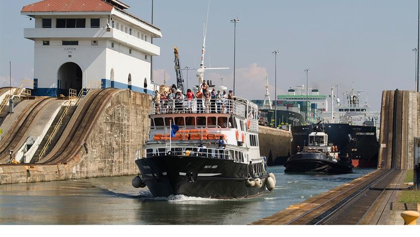 PANAMA CANAL PARTIAL TRANSIT NORTHBOUND TOUR 5, Panama Canal Partial Transit Northbound Tour