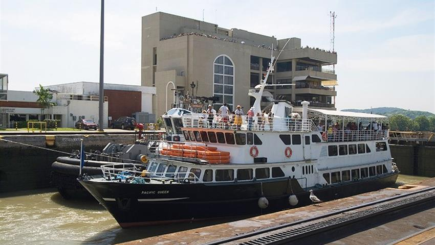 PANAMA CANAL PARTIAL TRANSIT NORTHBOUND TOUR 4, Tour Tránsito Parcial Del Canal De Panamá En Dirección Norte
