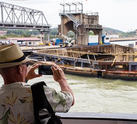 Panama Canal Partial Transit Southbound Tour