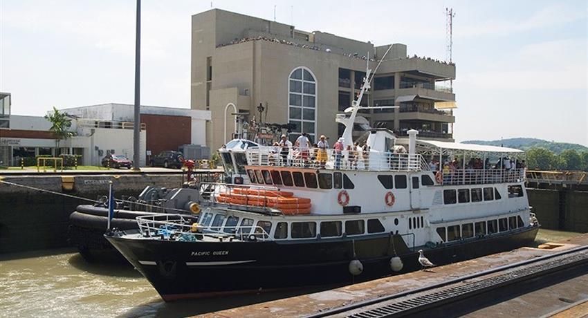 PANAMA CANAL PARTIAL TRANSIT SOUTHBOUND TOUR 4, Panama Canal Partial Transit Southbound Tour