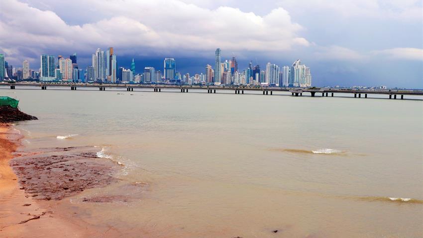 Panama City Skyline - TOUR PANAMA CITY, Panama City Tour and The Canal Locks (Miraflores)