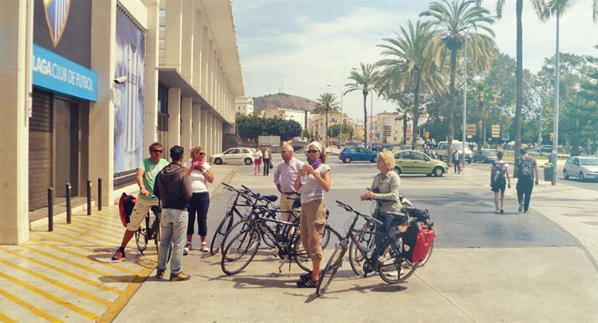 Visit the city, Tour Málaga Panorámica en Bicicleta
