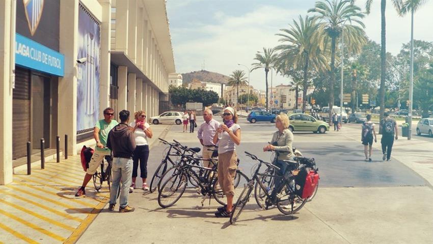 Visit the city, Panorama Bike Tour Malaga
