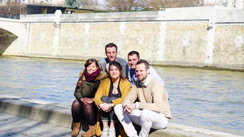 Group Picture, Paris Through the Ages Walking Tour