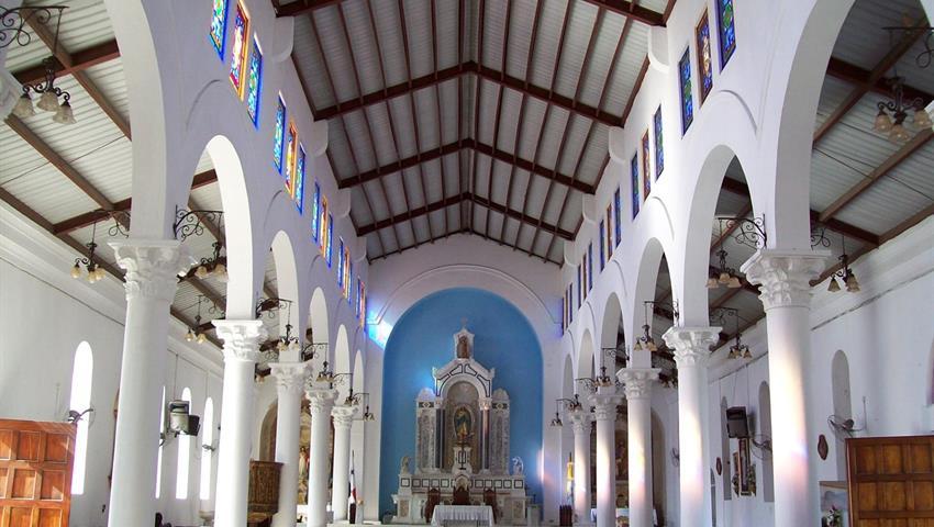 Catedral Juan Bautista (Interior), Aventura de Montaña y Cascada en Penonomé