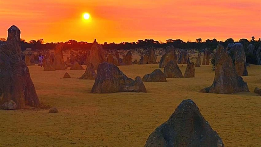 Pinnacles Sunset and Start Gazing Tour sunset, Pinnacles Sunset and Star Gazing Tour