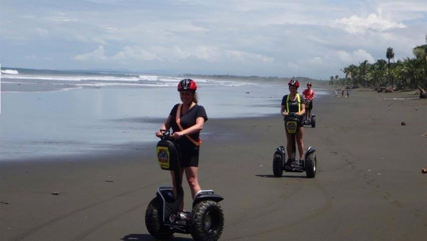 2, Private Segway Deep Island and Beach Tour