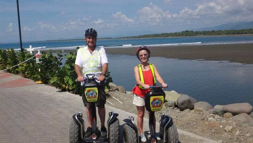 3, Private Segway Deep Island and Beach Tour