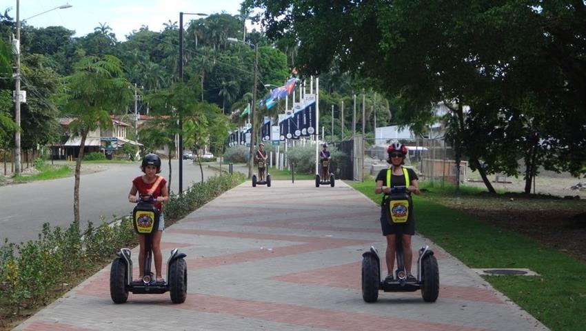 5, Private Segway Deep Island and Beach Tour