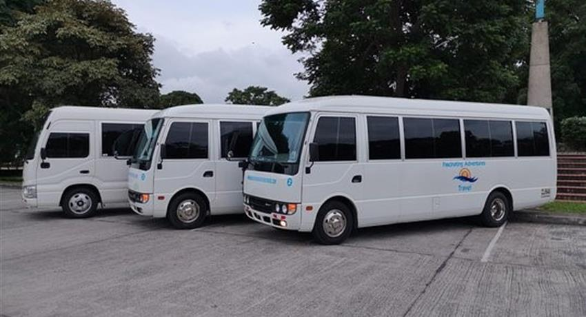 TRANSFER FROM GAMBOA HOTEL TO CALZADA DE AMADOR4, Private Transfer from Gamboa to the Calzada de Amador