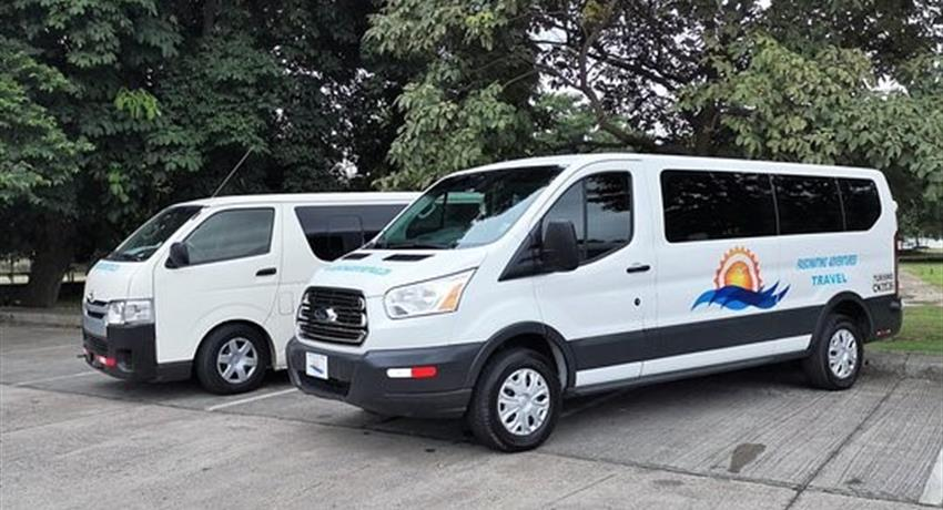 TRANSFER FROM TOCUMEN AIRPORT TO GAMBOA3, Private Transfer from the Tocumen International Airport to Gamboa