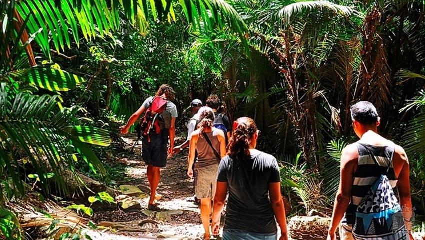 Punta Sal Walk, Punta Sal Beach