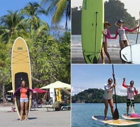 Quepos 3-Hour Paddle Boarding Tour