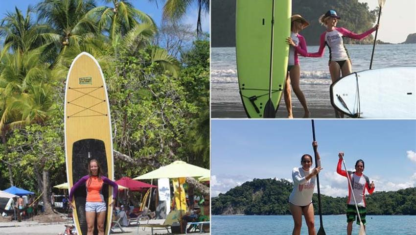 Paddleboarding, Quepos 3-Hour Paddle Boarding Tour