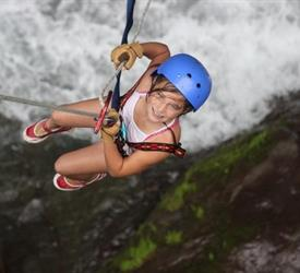 Rafting and Waterfall Rappelling Adventure, Water Activities in Costa Rica