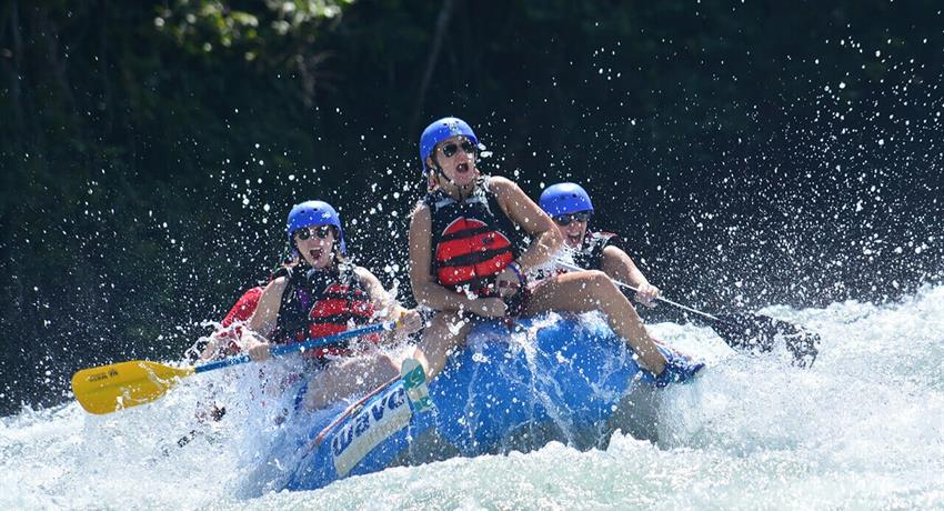 Rafting, Rafting and Waterfall Rappelling Adventure
