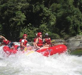 Rafting in Caldera River