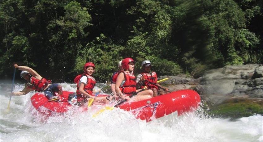 Rafting in Caldera River  - Tiqy, Rafting in Caldera River