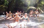 Rainforest Tours Cairns  Josephine Falls rocks, Rainforest Tours Cairns