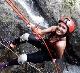 Rappelling in Anton Valley From Panama City