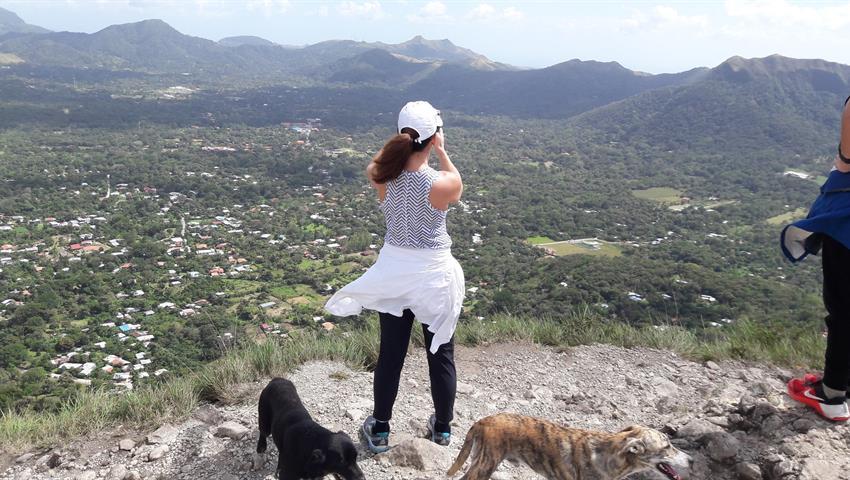 Rappelling, Rappel en el Valle de Antón Desde la Ciudad de Panamá