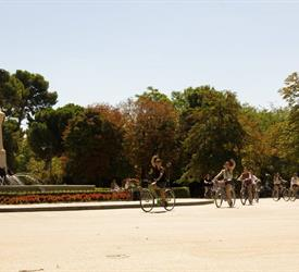 Retiro Park Bike Tour , Bike Tours in Spain
