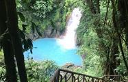 Cascada, 8 Horas de Caminata en Río Celeste