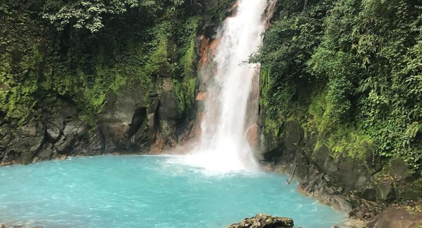 Waterfall, Rio Celeste 8-Hour Hike