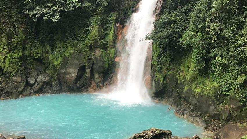 Waterfall, Rio Celeste 8-Hour Hike