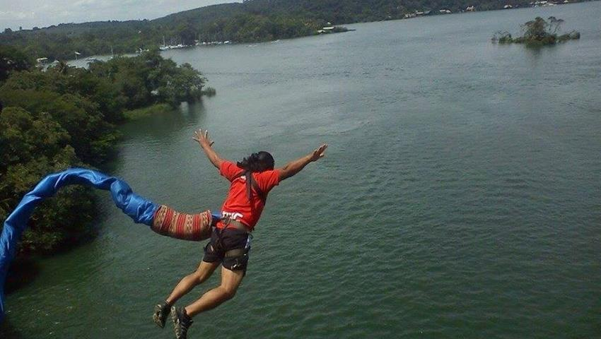 1, Rio Dulce Bungee Experience