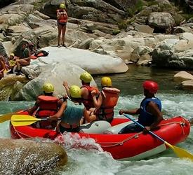 River Rafting at Cangrejal