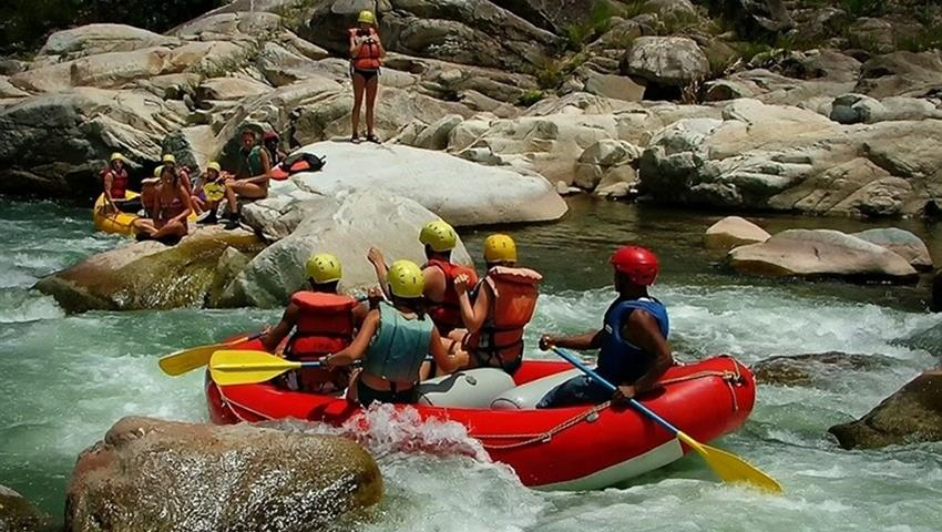 River Rafting at Cangrejal, River Rafting at Cangrejal