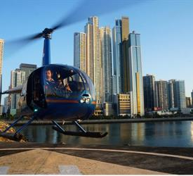 Robinson 44 Raven Helicopter Panama City Tour
