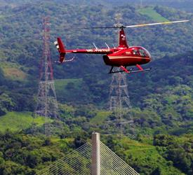 Robinson 66 Helicopter Panama City Tour