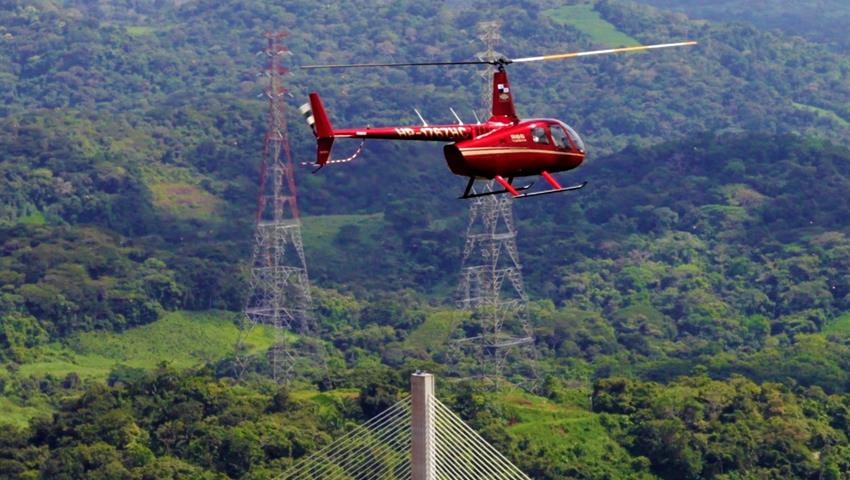 ROBINSON 66 HELICOPTER PANAMA CITY TOUR 1, Robinson 66 Helicopter Panama City Tour