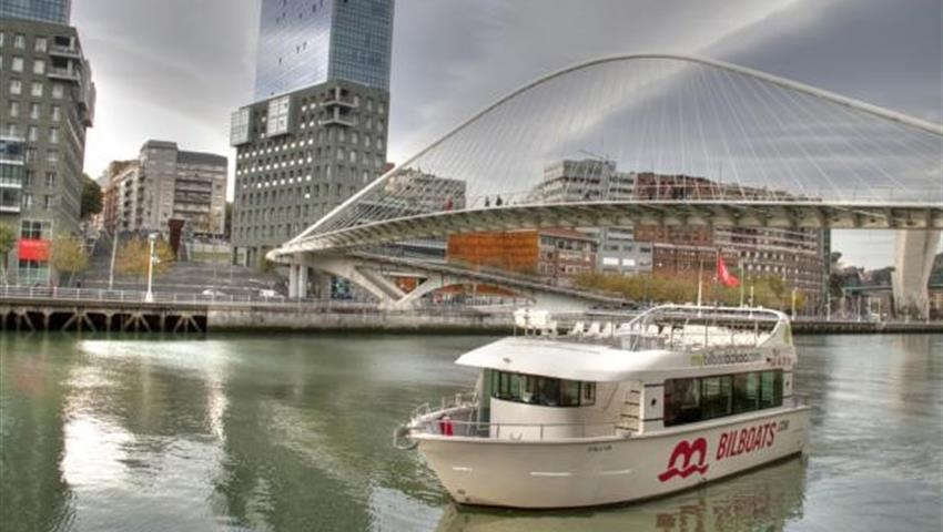 Main monuments of Bilbao - Tiqy, Sailing Bilbao