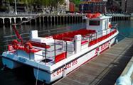 Ready to go the Ibai Ibai - Tiqy, Sailing Bilbao