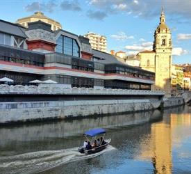 Sailing in Bilbao by Boat