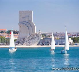 Sailing in Lisbon Cascais Atlantic