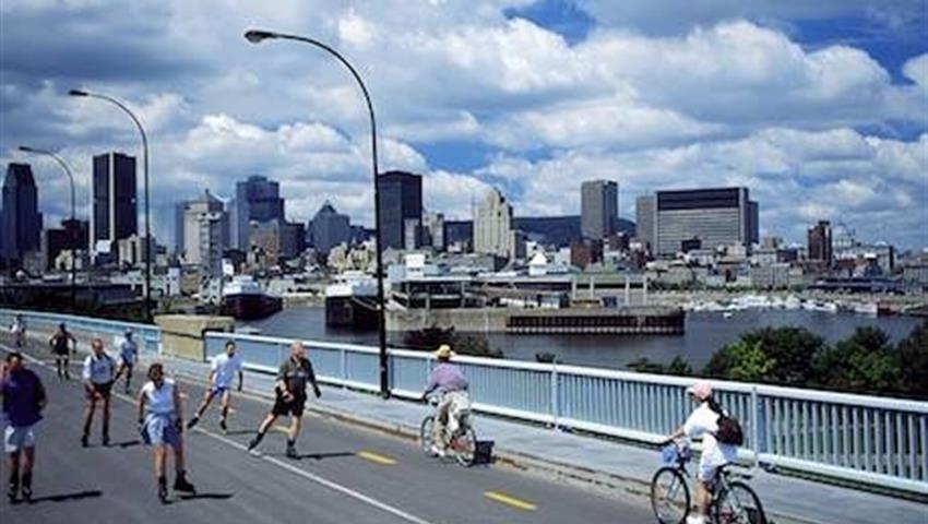 Bike Tours, Excursión en Scooter por Montreal